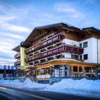 Hotel Barbarahof Saalbach, hotelli Saalbachissa