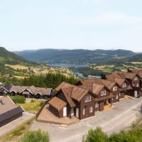 New and Exclusive Cottage in Voss with a great view
