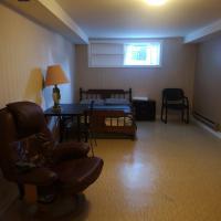 Two bedroom half basement suite