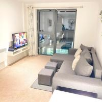 Stylish Manchester city centre apartment 2 bedroom with free parking