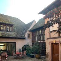 LA TOUR des fées, hotel in Mittelbergheim