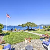 Waterfront Escape with Deck & Puget Sound Views