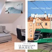 MyHome Basel 3A46, hotel in Saint-Louis