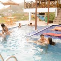 Hostal Casa Roma, hotel en Taganga