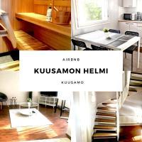 Kuusamon Helmi, Sauna, Parveke, Terassi