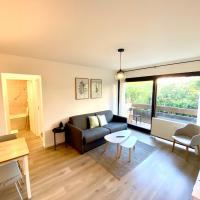 SOBNB- RUE JURA Appartement au calme, neuf proche douane