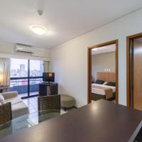 OTH1603 Flat na Ilha do Leite, Recife, um quarto. Fica em um dos mais importantes polos médicos do país