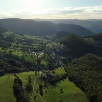 Private studio in the idyllic Swiss village in the Jura mountains
