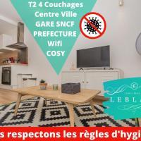 T2 4 Personnes , BUS , Lycée,Conservatoire, Centre Ville, Restaurant