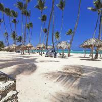 ACOGEDOR ESTUDIO en la playa Bávaro para 4 personas WIFI