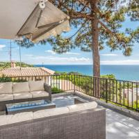 Awesome home in Sant Pol de Mar with Outdoor swimming pool, WiFi and 4 Bedrooms