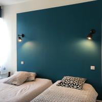 Le 42 Chambre bleue, hotel in Nogent-le-Rotrou
