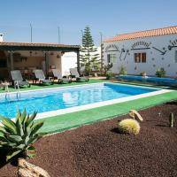 Villa with 4 bedrooms in Las Palmas with wonderful mountain view private pool enclosed garden 20 km from the beach