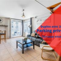 La Joliette; Duplex 2 chambres, PARKING INCLUS+ Terrasse+ ascenseur