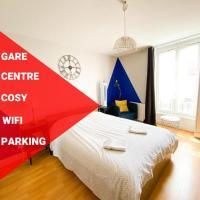 Mâcon - Gare - Centre Ville - Parking - Cosy - Wifi