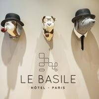 فندق لو باسيلي، فندق في الحي التاسع عشر أوبرا - هاوسمان، باريس