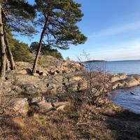 Stränder, natur och stor trädgård