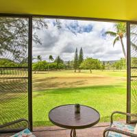Turtle Bay Condo with Pool Access and Golf Course!