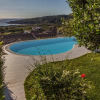 Villa with 3 bedrooms in San Teodoro with wonderful sea view private pool enclosed garden 500 m from the beach