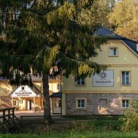 Skalní Mlýn Adršpach, hotel v Adršpachu