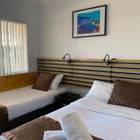 Baths Motel Moree, отель в городе Мори