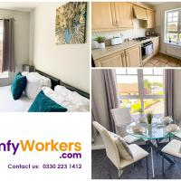 New Contractor Apartment - Free Parking - Central Northampton by Comfy Workers