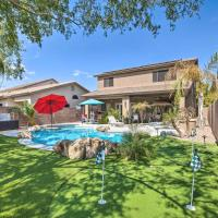 Luxury Maricopa Retreat with Private Pool and Patio!, hotel in Maricopa