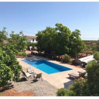Villa with 3 bedrooms in Juncosa Vall d'Alba with wonderful mountain view private pool terrace 25 km from the beach