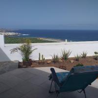 Las Pardelas, Ferienhaus mit Meer-, Küsten- und Bergblick im grünen Norden Teneriffas, hotel en Las Cruces