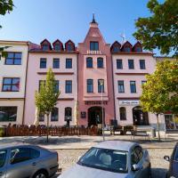 Hotel U Labutě, hotel a Žďár nad Sázavou