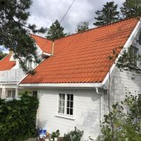 Leilighet i Sørlandshus i Son - Sjøutsikt - Nær Son Spa, hotell i Son
