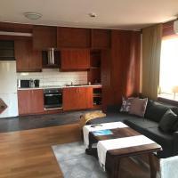 Lägenhet med 2 sovrum och uteplats
