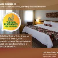 Lets Idea Brasília Hotel, hotel in North Wing, Brasilia