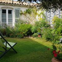 La Passerose jardin clos 300mplage la Couarde sur mer