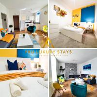 Fru Luxury Stays Serviced Accommodation -FRESH CONTEMPORY- Plymouth, Up to 4 Guests,1 bed Apartment, Free WIFI & Parking
