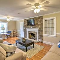 Updated Cape Charles Home about 2 Miles to Beachfront!, hotel in Cape Charles