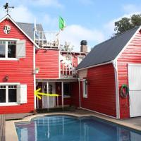 Habitación en villa neo victoriana con piscina, hotel near Astor Piazzolla International Airport - MDQ, Mar del Plata