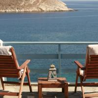 Syra balcony to the Aegean