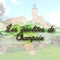 Les Insolites de Champeix、Champeixのホテル
