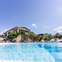 Villa with 4 bedrooms in Cala Ginepro with wonderful sea view private pool enclosed garden 5 km from the beach