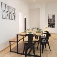 Grand appartement, 3 chambres, centre de Dieppe