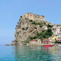 Apartment with 2 bedrooms in Scilla with wonderful sea view furnished balcony and WiFi 350 m from the beach