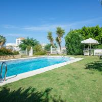 Villa with 4 bedrooms in Sanlucar de Barrameda with wonderful sea view private pool furnished terrace 2 km from the beach