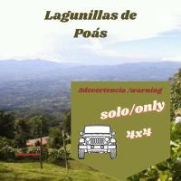 Lagunillas Del Poas, hotel in Poasito