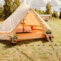 Rural Luxury 5 Star Bell Tent in South Norfolk