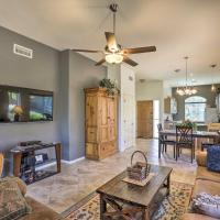Active Adult Community Villa with Patio & Pool!, hotel in Green Valley