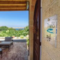 Sea View Villa Thea 4 in Rhodes Lindos