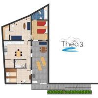 Sea View Villa Thea 3 in Rhodes Lindos