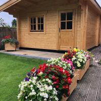 Cosy Log Cabin - The Dookit - Fife