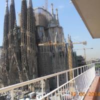 Amazing views of Sagrada Familia